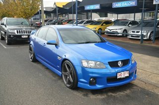 2011 Holden Commodore VE II MY12 SV6 Blue 6 Speed Automatic Sedan.