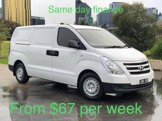2016 Hyundai iLOAD TQ3-V Series II MY17 White 5 Speed Automatic Van.
