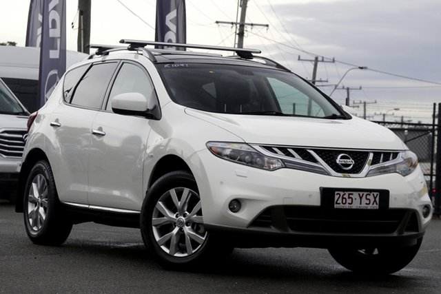 Used Nissan Murano Z51 Series 3 TI Rocklea, 2012 Nissan Murano Z51 Series 3 TI Ivory Pearl 6 Speed Constant Variable Wagon
