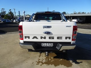 2020 Ford Ranger PX MkIII 2021.25MY XLT Double Cab Alabaster White 10 Speed Automatic