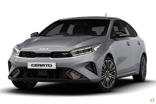 2021 Kia Cerato BD MY22 GT DCT Grey 7 Speed Sports Automatic Dual Clutch Hatchback