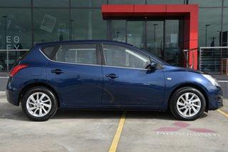 2013 Nissan Pulsar C12 ST Blue 1 Speed Constant Variable Hatchback.