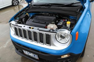 2015 Jeep Renegade BU MY15 Limited DDCT Blue 6 Speed Sports Automatic Dual Clutch Hatchback