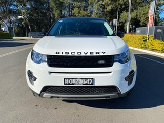 2016 Land Rover Discovery Sport L550 17MY HSE White 9 Speed Sports Automatic Wagon.