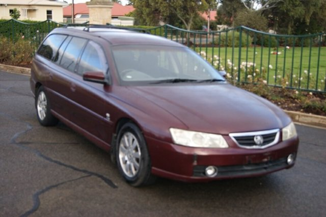Used Holden Berlina VY Blair Athol, 2003 Holden Berlina VY Burgundy 4 Speed Automatic Wagon