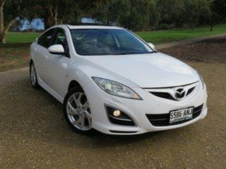2011 Mazda 6 GH1052 MY12 Luxury Sports White 5 Speed Sports Automatic Hatchback.