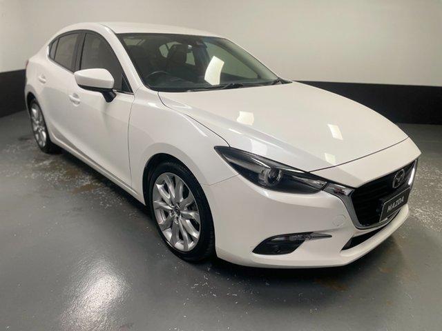 Used Mazda 3 BN5238 SP25 SKYACTIV-Drive Hamilton, 2018 Mazda 3 BN5238 SP25 SKYACTIV-Drive White 6 Speed Sports Automatic Sedan