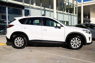 2013 Mazda CX-5 KE1071 Maxx SKYACTIV-Drive AWD Sport White 6 Speed Sports Automatic Wagon.