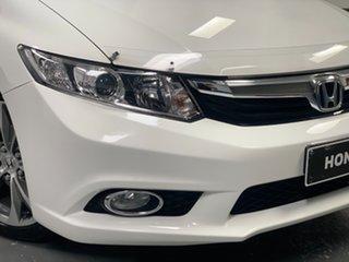 2012 Honda Civic 9th Gen Sport Taffeta White 5 Speed Sports Automatic Sedan.