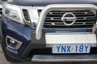 2016 Nissan Navara D23 ST-X 4x2 Blue 7 Speed Sports Automatic Utility