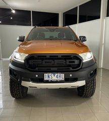 2018 Ford Ranger PX MkIII 2019.00MY Wildtrak Orange 10 Speed Sports Automatic Utility.