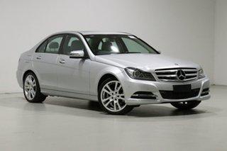 2013 Mercedes-Benz C250 W204 MY13 Avantgarde BE Silver 7 Speed Automatic G-Tronic Sedan.