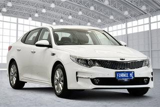 2016 Kia Optima JF MY16 SI Clear White 6 Speed Sports Automatic Sedan.