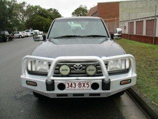 2003 Toyota Landcruiser UZJ100R GXL Grey 5 Speed Automatic Wagon.