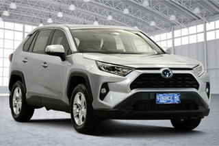 2020 Toyota RAV4 Axah52R GX 2WD Silver 6 Speed Constant Variable Wagon Hybrid.