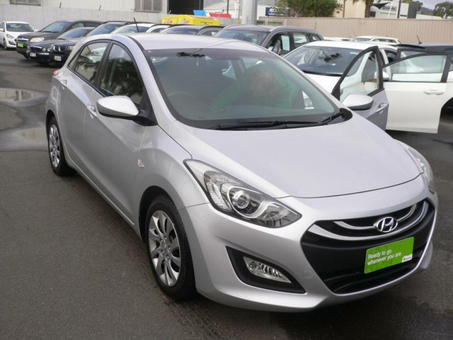Used Hyundai i30 GD2 Active St Marys, 2014 Hyundai i30 GD2 Active Silver 6 Speed Sports Automatic Hatchback