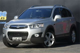 2011 Holden Captiva CG Series II 7 AWD LX Silver 6 Speed Sports Automatic Wagon.