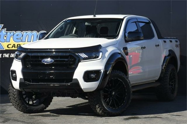 Used Ford Ranger PX MkII XL Campbelltown, 2015 Ford Ranger PX MkII XL White 6 Speed Sports Automatic Utility