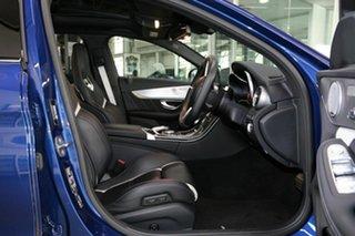 2016 Mercedes-Benz C-Class W205 807MY C63 AMG SPEEDSHIFT MCT S Blue 7 Speed Sports Automatic Sedan.