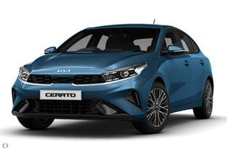 2021 Kia Cerato BD MY22 Sport Blue 6 Speed Sports Automatic Hatchback
