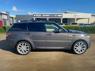 2016 Land Rover Range Rover Sport L494 16MY HSE Grey/051216 8 Speed Sports Automatic Wagon.