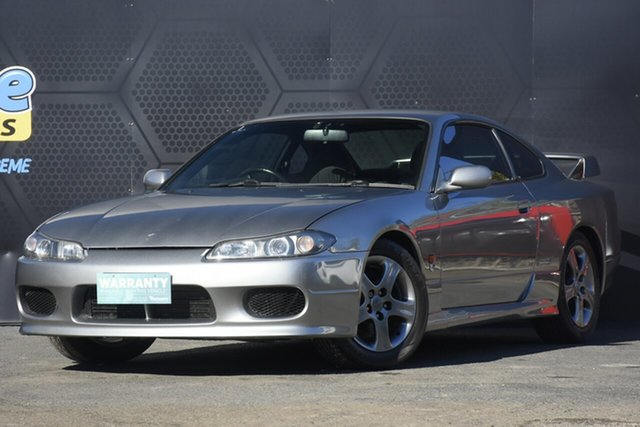 Used Nissan 200SX S15 Spec S GT Campbelltown, 2002 Nissan 200SX S15 Spec S GT Grey 6 Speed Manual Coupe