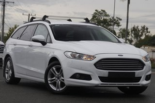 2016 Ford Mondeo MD Ambiente Frozen White 6 Speed Sports Automatic Dual Clutch Wagon.