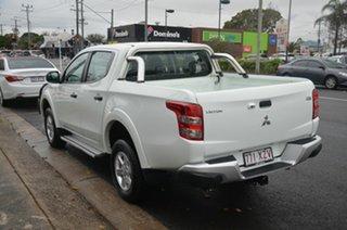 2018 Mitsubishi Triton MQ MY17 GLX (4x4) White 5 Speed Automatic Dual Cab Utility