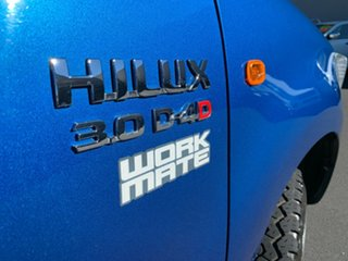 2012 Toyota Hilux KUN26R MY12 Workmate Blue 5 Speed Manual Cab Chassis