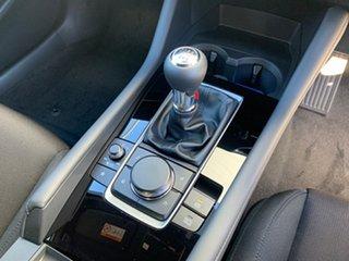 2021 Mazda 3 BP2H76 G20 SKYACTIV-MT Pure Snowflake White 6 Speed Manual Hatchback