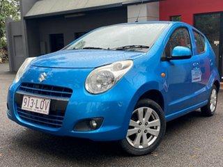 2009 Suzuki Alto GF GL Metallic Blue 5 Speed Manual Hatchback.