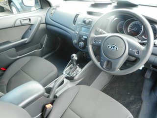 2011 Kia Cerato TD MY11 SI White 6 Speed Automatic Sedan