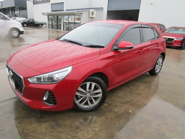 Used Hyundai i30 PD2 MY19 Active Caboolture, 2019 Hyundai i30 PD2 MY19 Active Red 6 Speed Sports Automatic Hatchback