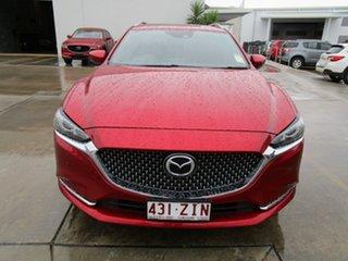 2019 Mazda 6 GL1032 Atenza SKYACTIV-Drive Red 6 Speed Sports Automatic Wagon.