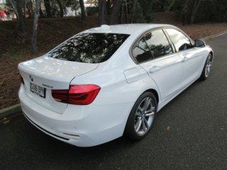2016 BMW 3 Series F30 LCI 320d Sport Line White 8 Speed Sports Automatic Sedan.