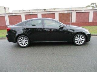 2010 Lexus IS GSE20R MY10 IS250 Prestige Black 6 Speed Sports Automatic Sedan.