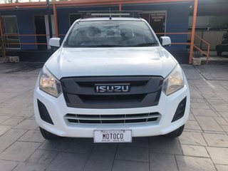 2018 Isuzu D-MAX MY18 SX Crew Cab White 6 Speed Sports Automatic Cab Chassis.