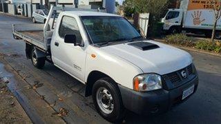 2012 Nissan Navara D22 Series 5 DX (4x2) White 5 Speed Manual Cab Chassis.