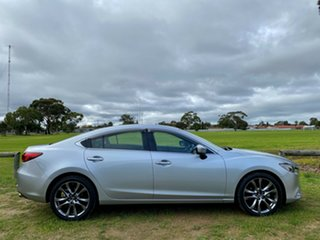 2016 Mazda 6 GL1021 Atenza SKYACTIV-Drive Sonic Silver 6 Speed Sports Automatic Sedan.