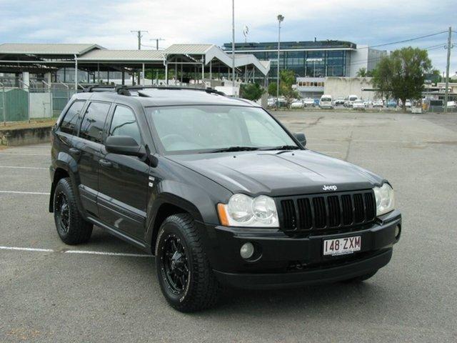 Used Jeep Grand Cherokee WH Laredo (4x4) Albion, 2007 Jeep Grand Cherokee WH Laredo (4x4) Black 5 Speed Automatic Wagon