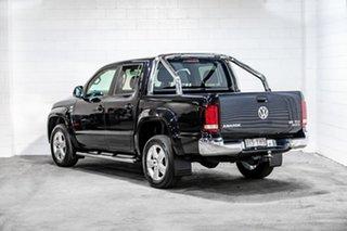 2018 Volkswagen Amarok 2H MY18 TDI550 4MOTION Perm Sportline Black 8 Speed Automatic Utility.