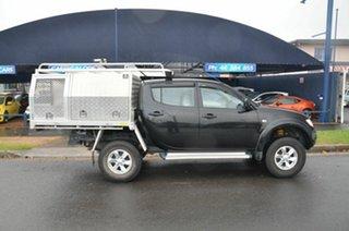 2014 Mitsubishi Triton MN MY15 GLX (4x4) Black 5 Speed Manual 4x4 Double Cab Utility.
