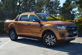 2019 Ford Ranger PX MkIII 2019.00MY Wildtrak Orange 10 Speed Sports Automatic Double Cab Pick Up.