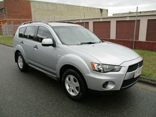2011 Mitsubishi Outlander ZH MY11 LS Silver 6 Speed Constant Variable Wagon.