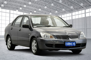 2007 Mitsubishi Lancer CH MY07 ES Grey 4 Speed Sports Automatic Sedan.