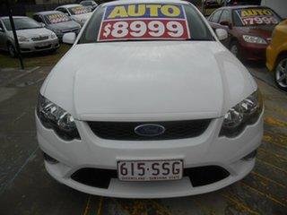 2010 Ford Falcon FG XR6 White 6 Speed Sports Automatic Sedan.