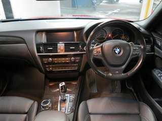 2014 BMW X4 F26 xDrive20d Coupe Steptronic Melbourne Red 8 Speed Automatic Wagon