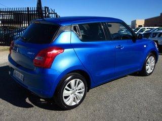 2017 Suzuki Swift GL Navi (Qld) Blue Continuous Variable Hatchback.