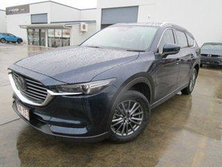 2018 Mazda CX-8 KG2W2A Sport SKYACTIV-Drive FWD Blue 6 Speed Sports Automatic Wagon.