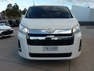 2020 Toyota HiAce GDH300R Crewvan LWB White 6 Speed Sports Automatic Van Wagon.